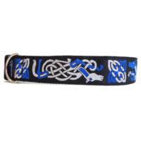 silver blue dragon collar