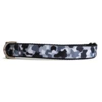 black white camo collar