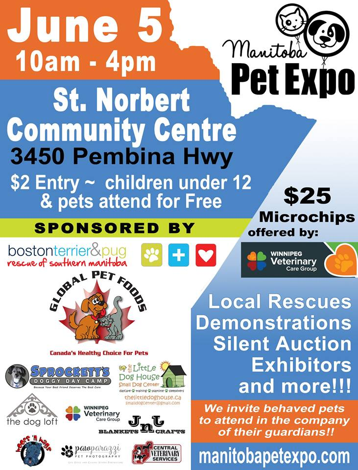 2016 - Manitoba Pet Expo - Official Poster