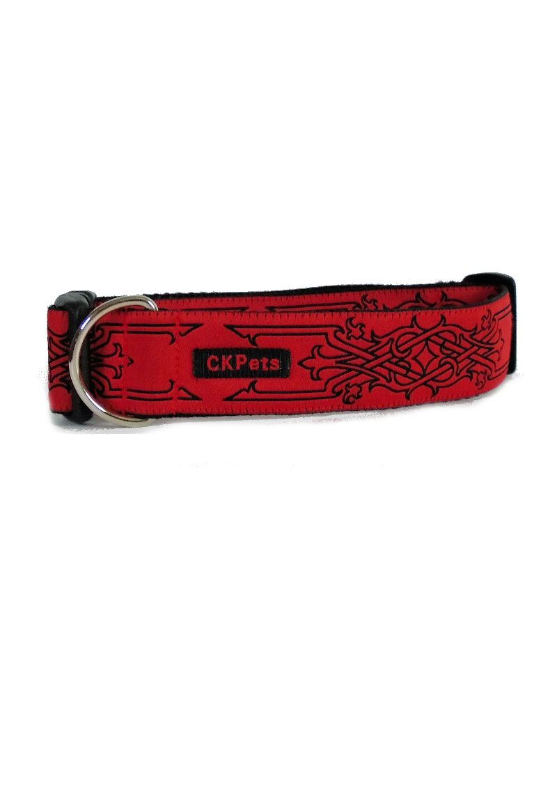 red celtic collar