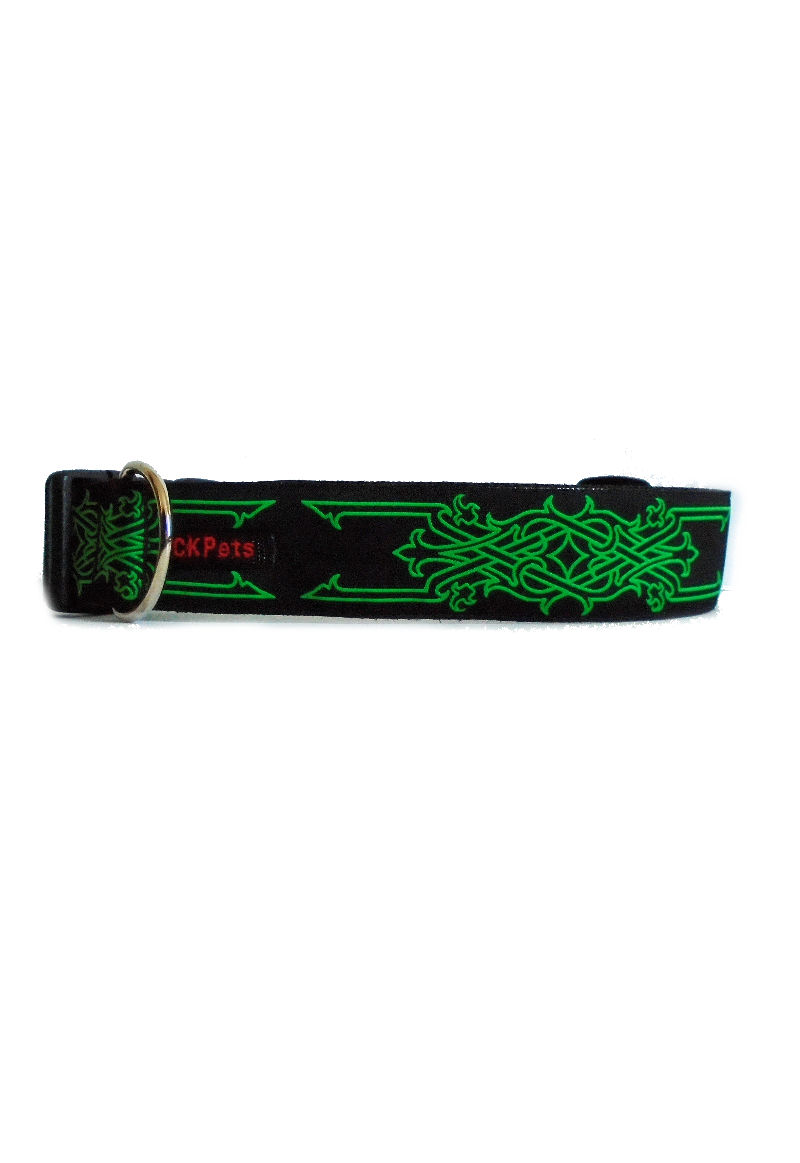 celtic on green collar