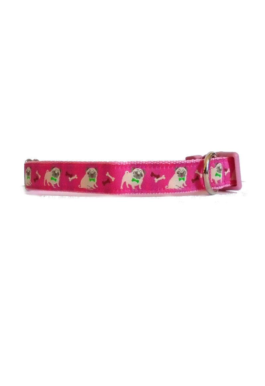 pink pug collar