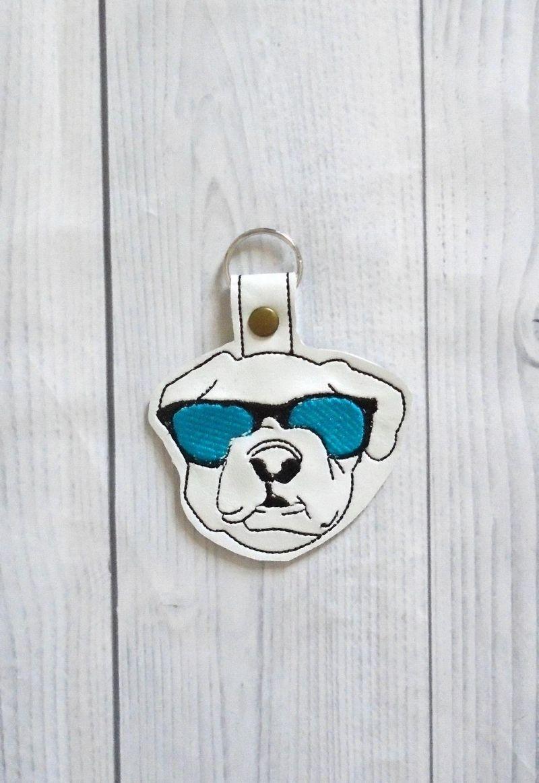 cool dog keychain
